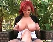 Look At This Redhead Big Tited Babe 3